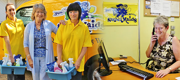 Office contract cleaners in Canterbury